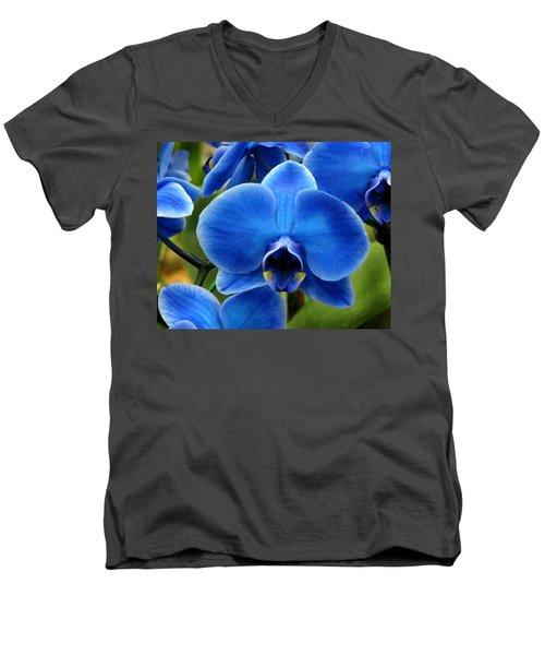 Blue Orchid Men's V-Neck T-Shirt