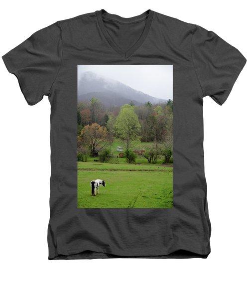 Blue Ridge Men's V-Neck T-Shirt