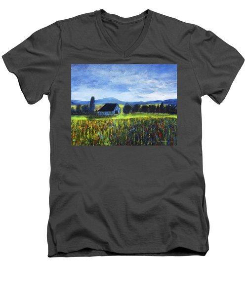 Blue Ridge Valley Men's V-Neck T-Shirt