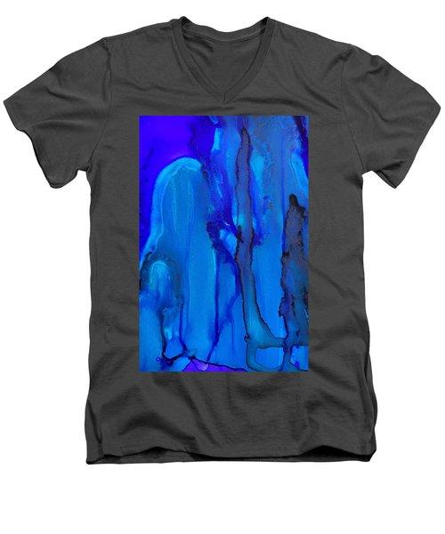 Blue Series  Men's V-Neck T-Shirt