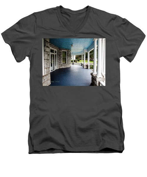 Blue Sky Above Men's V-Neck T-Shirt