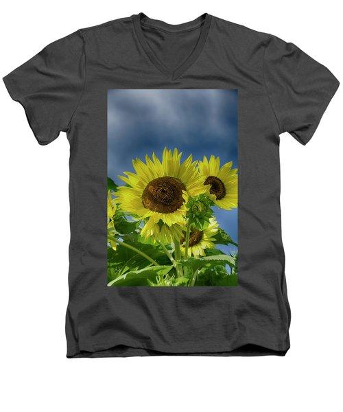 Blue Sky Day Men's V-Neck T-Shirt