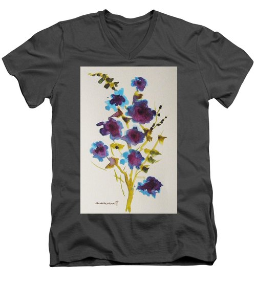 Blue Spring Men's V-Neck T-Shirt