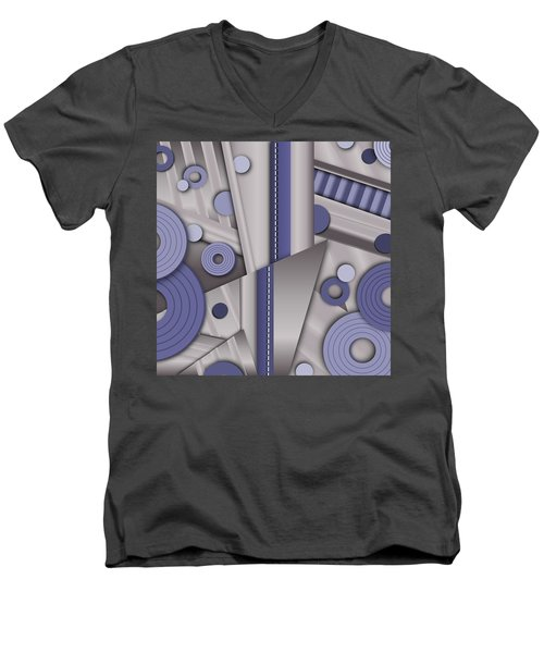 Blue Steel Men's V-Neck T-Shirt