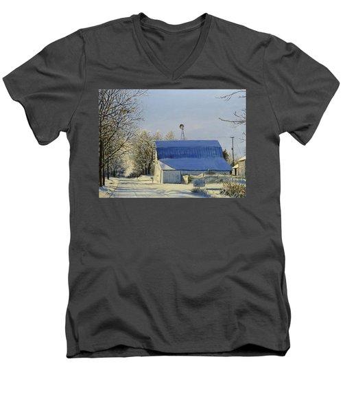 Blue Sunday Men's V-Neck T-Shirt