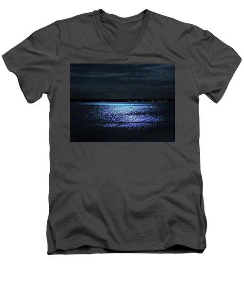 Blue Velvet Men's V-Neck T-Shirt