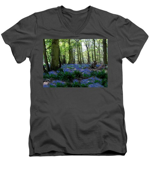 Bluebell Woods Men's V-Neck T-Shirt