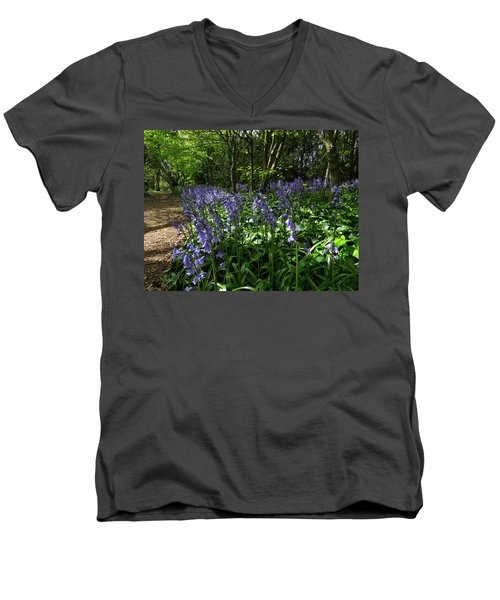 Bluebells4 Men's V-Neck T-Shirt by John Topman