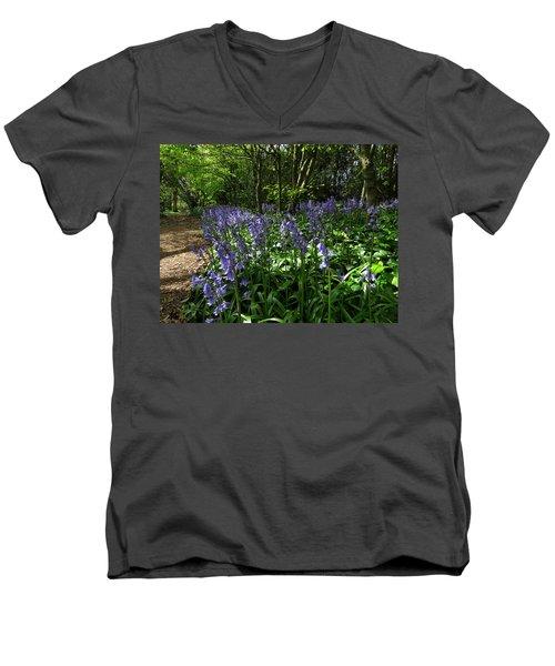 Bluebells4 Men's V-Neck T-Shirt