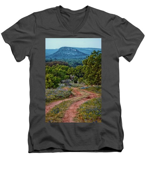 Bluebonnet Road Men's V-Neck T-Shirt