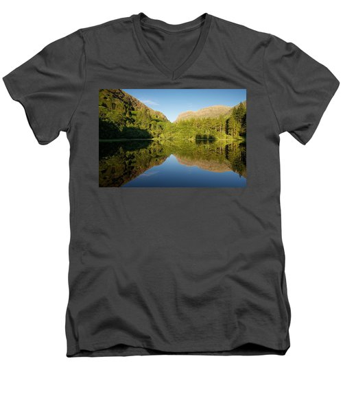 Blues Skies In Glencoe Men's V-Neck T-Shirt