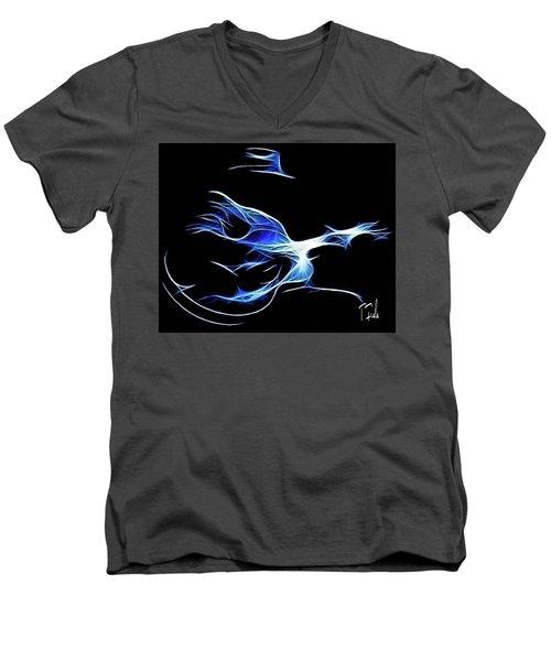 Bluesman Men's V-Neck T-Shirt