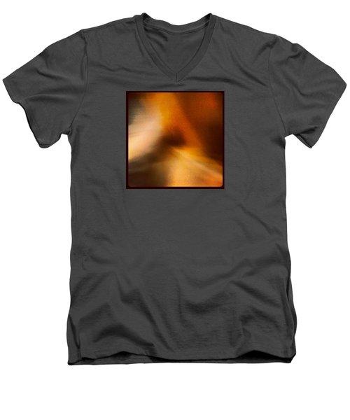 Blur Men's V-Neck T-Shirt by Kamiyah Franks