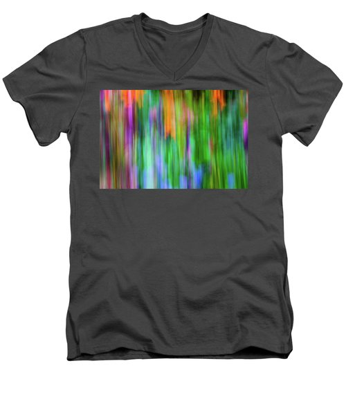 Blurred #1 Men's V-Neck T-Shirt