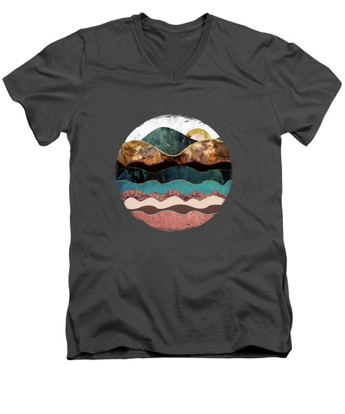 Blush Moon Men's V-Neck T-Shirt