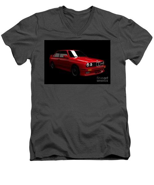 Bmw M3 E30 Men's V-Neck T-Shirt