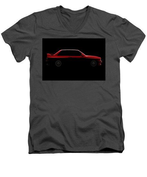 Bmw M3 E30 - Side View Men's V-Neck T-Shirt