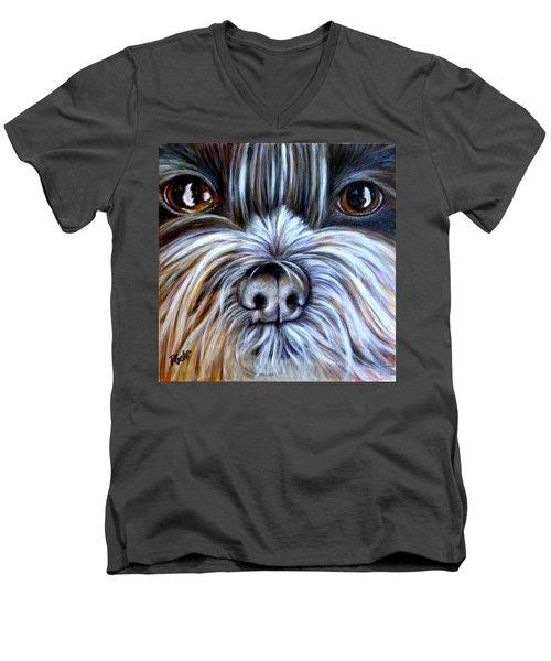 Bo Men's V-Neck T-Shirt
