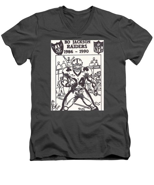 Bo Jackson 1 Men's V-Neck T-Shirt