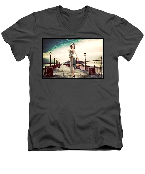 Boardwalk 1920 Men's V-Neck T-Shirt