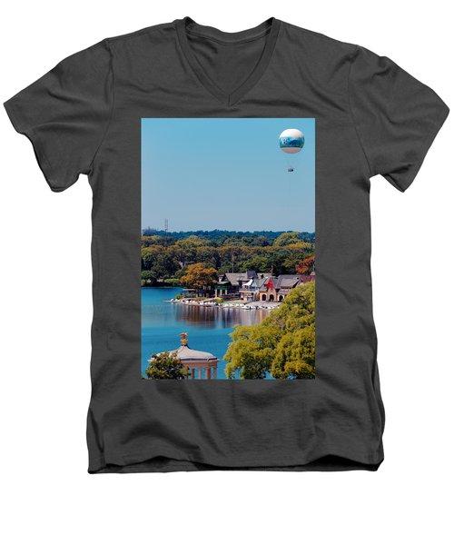 Boat House Row Men's V-Neck T-Shirt