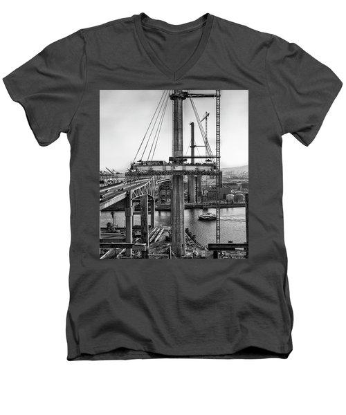 Boat Under Desmond Men's V-Neck T-Shirt