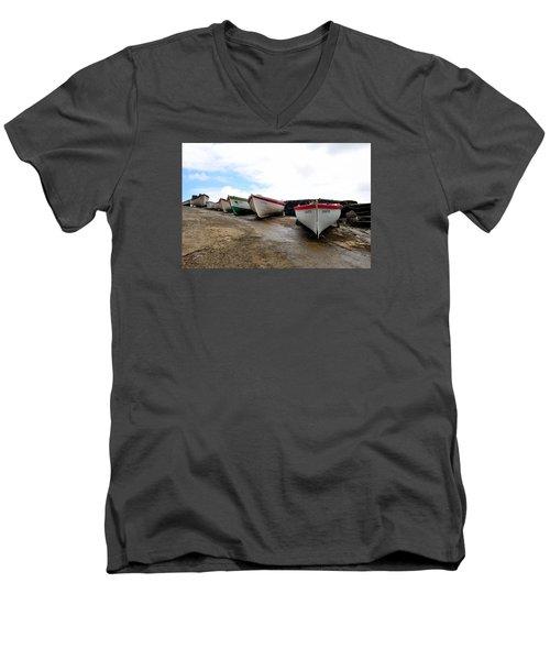 Boats,fishing-24 Men's V-Neck T-Shirt