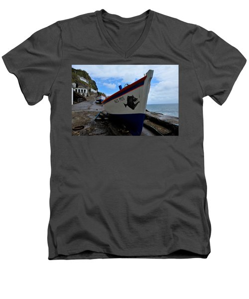 Boats,fishing-26 Men's V-Neck T-Shirt
