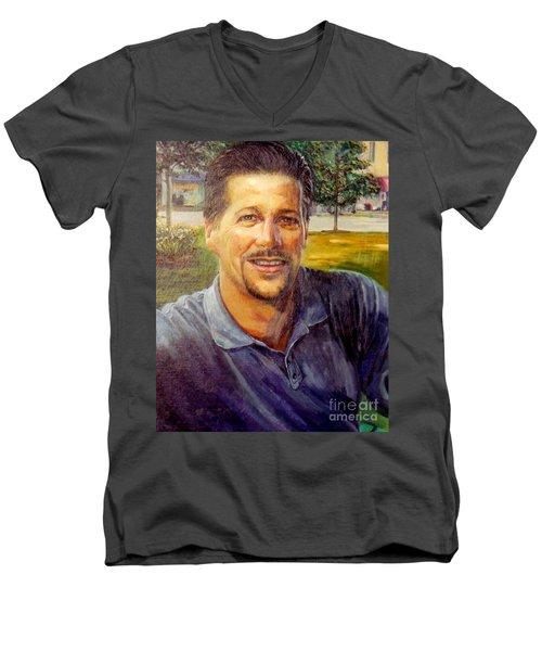 Bobby Men's V-Neck T-Shirt