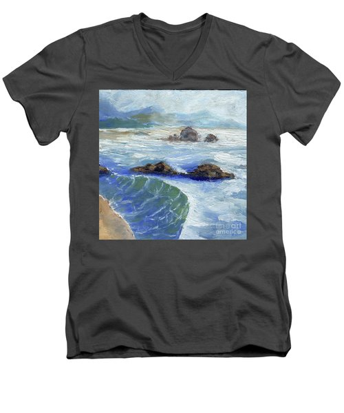Bodiga Bay #2 Men's V-Neck T-Shirt