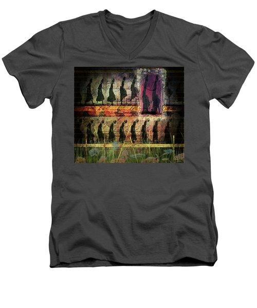 Body In Motion Men's V-Neck T-Shirt