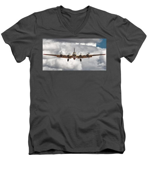 Boeing Inbound Men's V-Neck T-Shirt