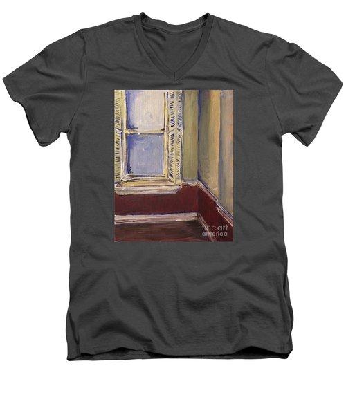 Bohemian Gallery, January 2007 Men's V-Neck T-Shirt by Joseph A Langley