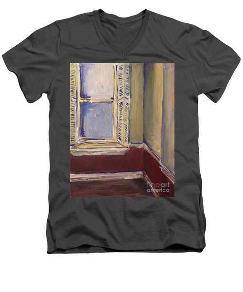 Bohemian Gallery, January 2007 Men's V-Neck T-Shirt