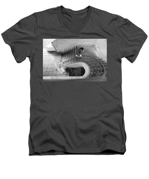 Bolhao Starway Men's V-Neck T-Shirt