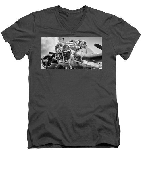 Bomber's Eye View Men's V-Neck T-Shirt