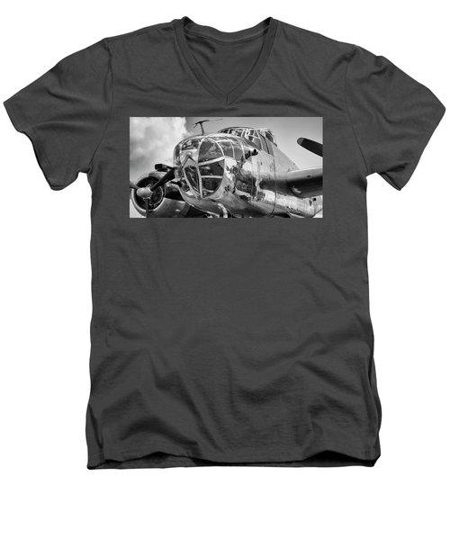 Bomber's Eye View Men's V-Neck T-Shirt