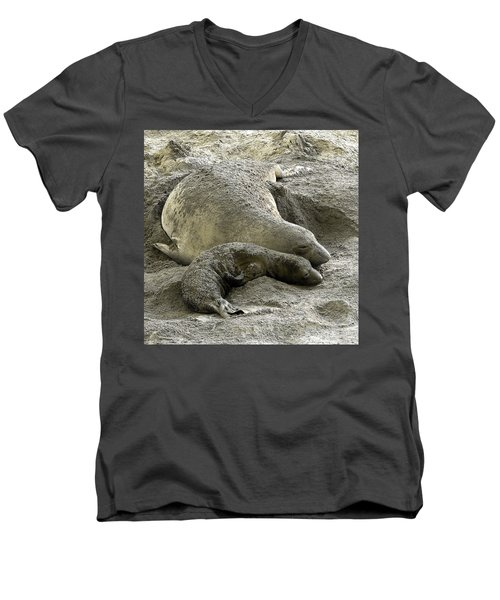 Bonding Men's V-Neck T-Shirt
