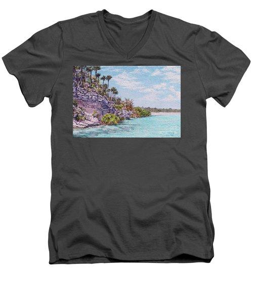 Bonefish Creek Men's V-Neck T-Shirt