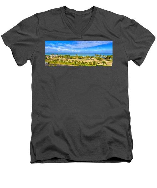 Bonita Beach Men's V-Neck T-Shirt