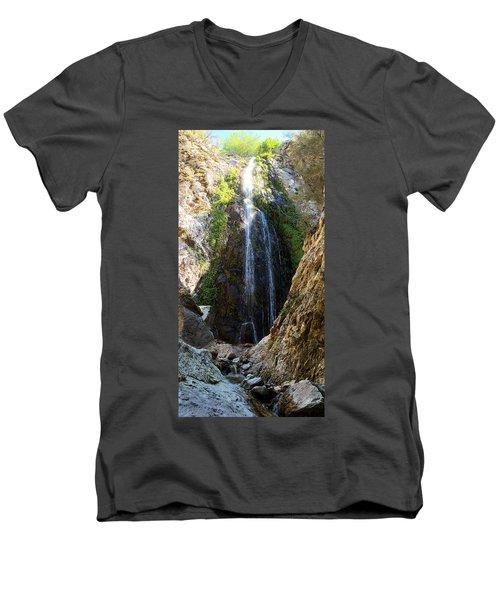 Bonita Falls In Full High Men's V-Neck T-Shirt