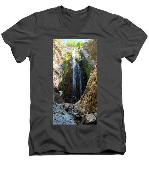 Bonita Falls In Full High Men's V-Neck T-Shirt
