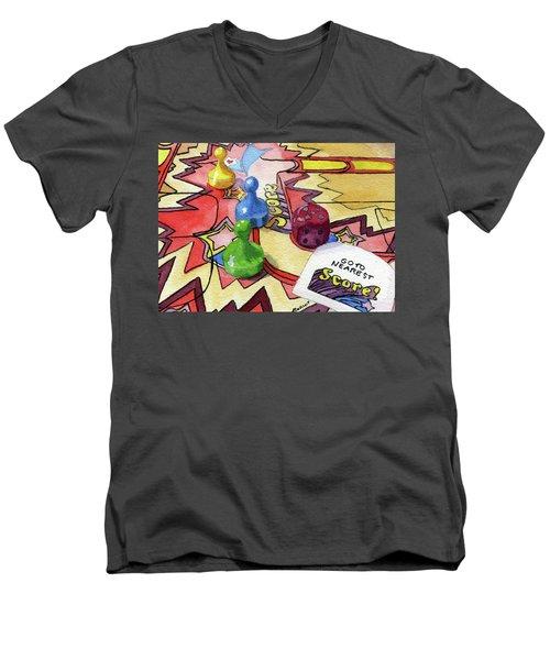 Bonkers Men's V-Neck T-Shirt