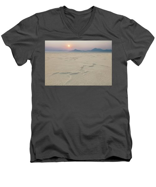 Bonneville Salt Flats Men's V-Neck T-Shirt