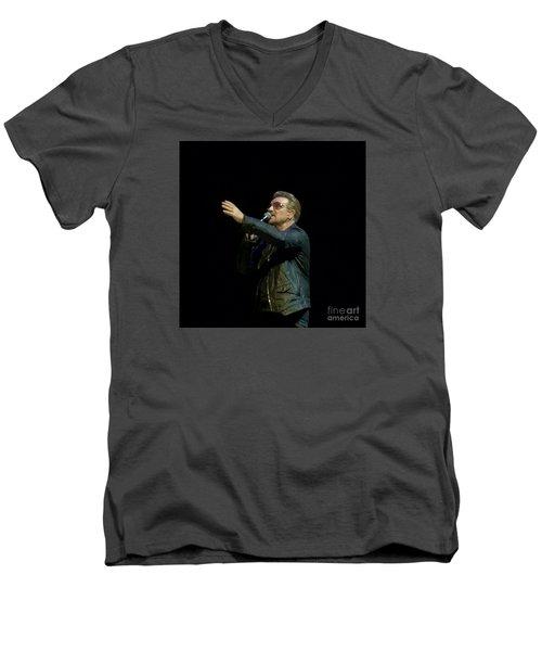 Bono - U2 Men's V-Neck T-Shirt