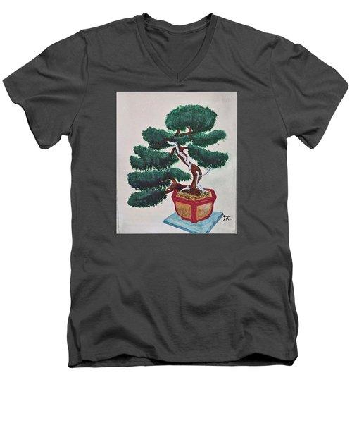 Bonsai #3 Men's V-Neck T-Shirt