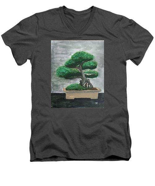 Bonsai #2 Men's V-Neck T-Shirt