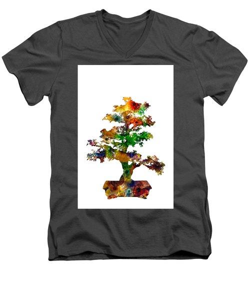 Bonsai Men's V-Neck T-Shirt