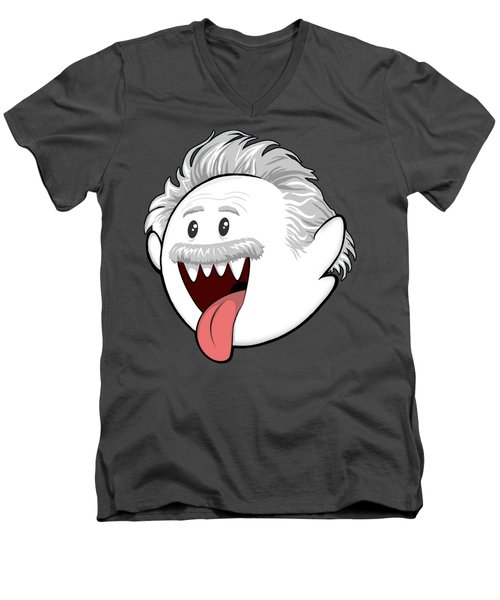 Boo-stein Men's V-Neck T-Shirt