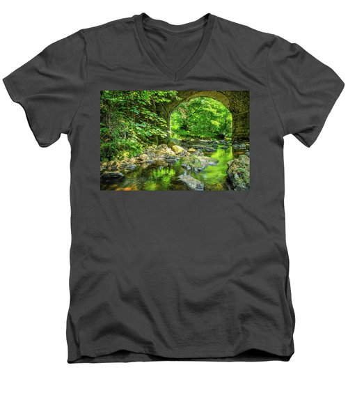 Boola Bridge  Men's V-Neck T-Shirt